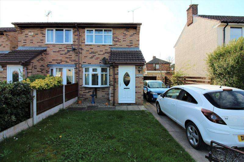 2 Bedrooms Semi Detached House for sale in Princess Avenue, Buckley