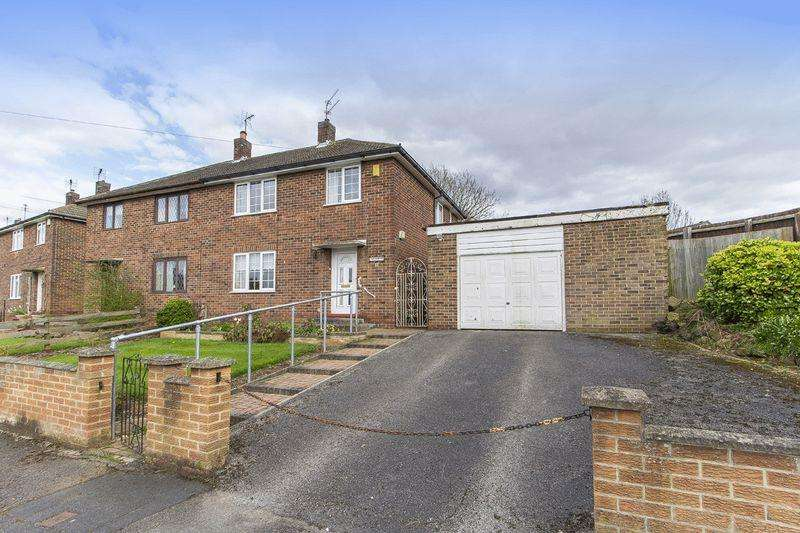 3 Bedrooms Semi Detached House for sale in HALIFAX CLOSE, BREADSALL HILLTOP