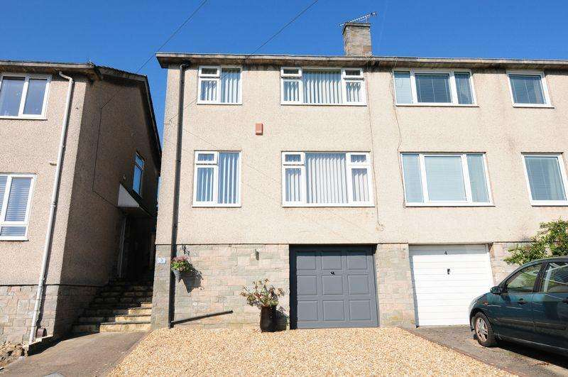 3 Bedrooms Semi Detached House for sale in Wells Close, Whitchurch, Bristol, BS14