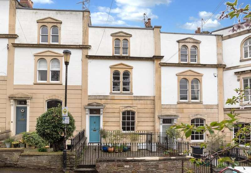 4 Bedrooms Terraced House for sale in Camden Terrace, Clifton, Bristol, BS8