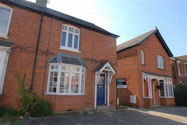 2 Bedrooms Terraced House for rent in THAXTED ROAD, SAFFRON WALDEN