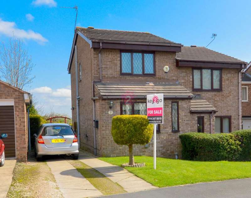 2 Bedrooms Semi Detached House for sale in Ralston Grove, Halfway, Sheffield, S20