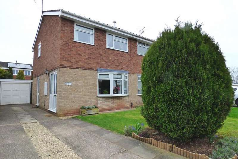 3 Bedrooms Semi Detached House for sale in Inglemere Drive, Wildwood, Stafford