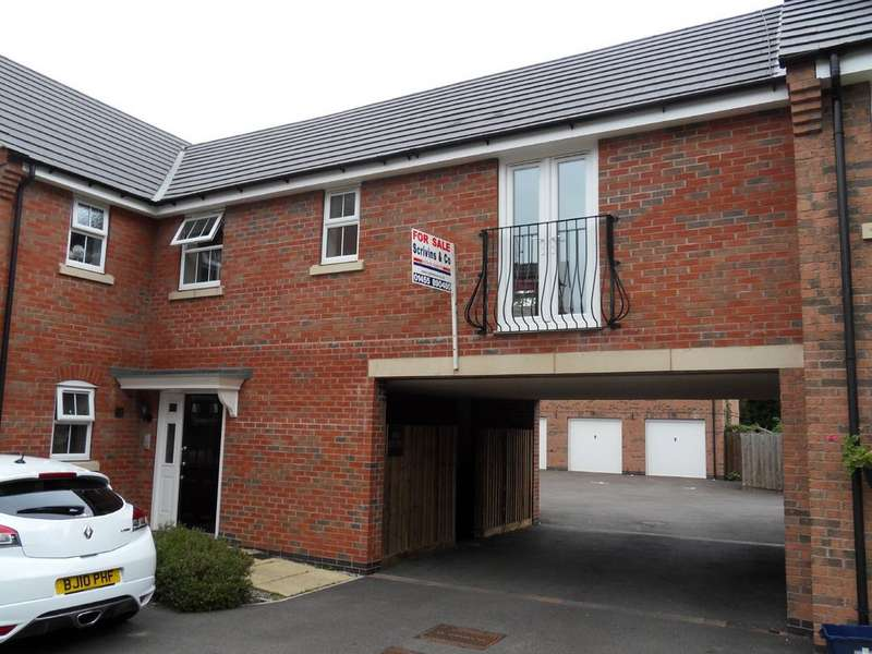 1 Bedroom Flat for sale in Burgess Drive, Earl Shilton LE9