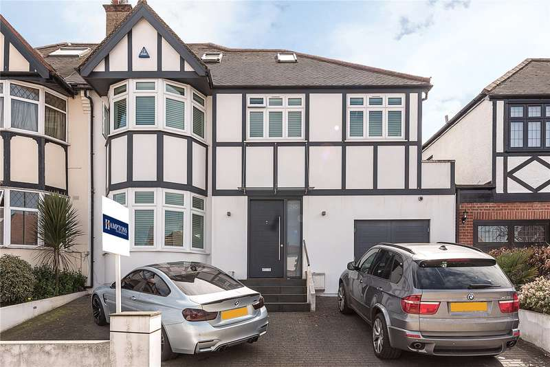 5 Bedrooms Semi Detached House for sale in Creighton Avenue, London, N2