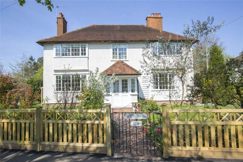 4 Bedrooms Detached House for sale in Winterdown Road, Esher, Surrey, KT10