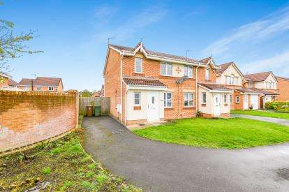 4 Bedrooms Semi Detached House for sale in Telford Drive, St. Helens, Merseyside, WA9