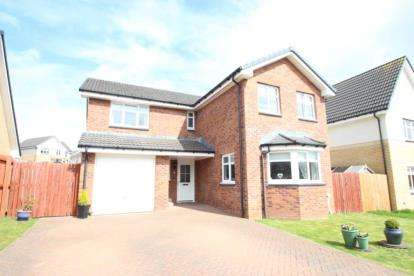 4 Bedrooms Detached House for sale in Limekiln Wynd, Mossblown, South Ayrshire
