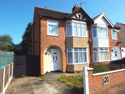 3 Bedrooms Semi Detached House for sale in Charlbury Road, Wollaton, Nottingham, Nottinghamshire