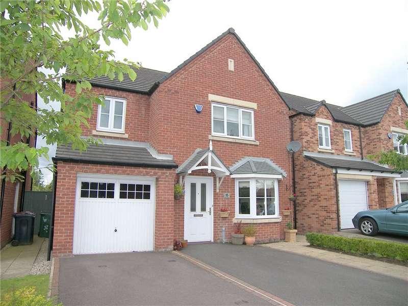 4 Bedrooms Detached House for sale in Spring Gardens, Wessington, Alfreton, Derbyshire, DE55