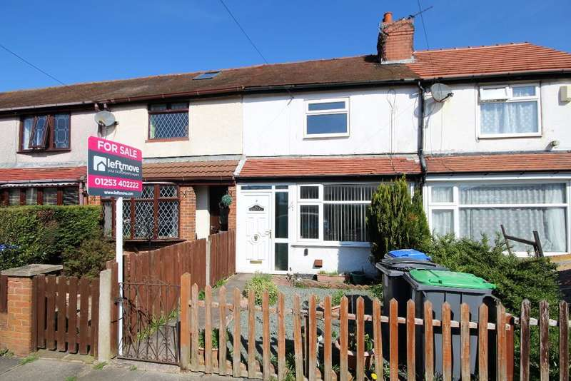 2 Bedrooms Terraced House for sale in Brookfield Avenue, South Shore, Blackpool, Lancashire, FY4 5HF