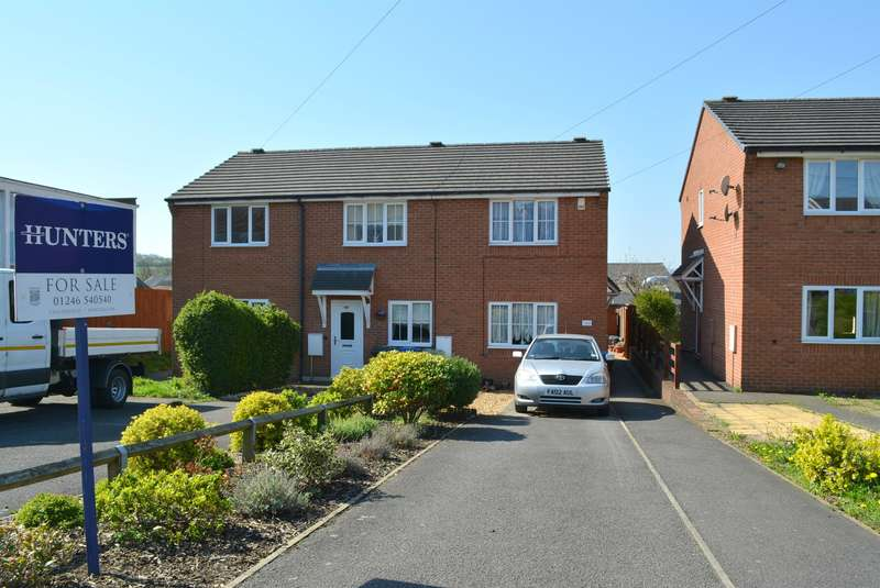 2 Bedrooms Town House for sale in South Street North, New Whittington, Chesterfield, S43 2BN