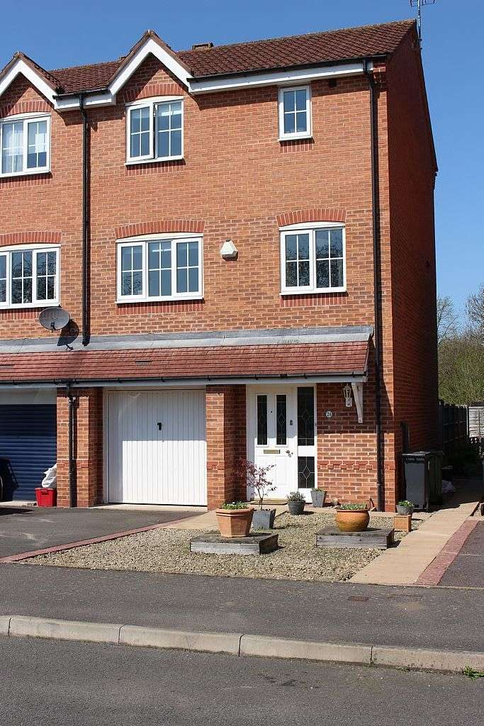 4 Bedrooms Town House for sale in Wilmhurst Road, Warwick, Warwickshire, CV34 5LN