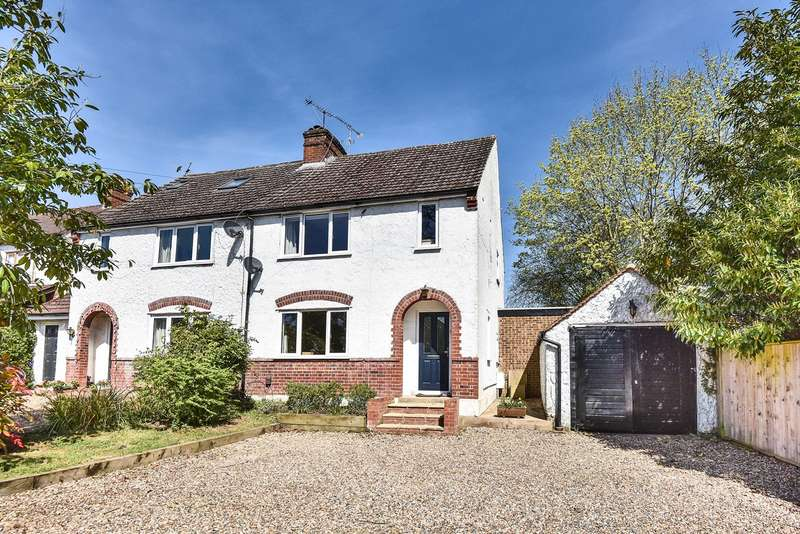 3 Bedrooms Semi Detached House for sale in Easthampstead Road, Wokingham, RG40