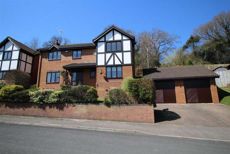 4 Bedrooms Detached House for sale in Ffos-Y-Fran Close, Bassaleg, Newport