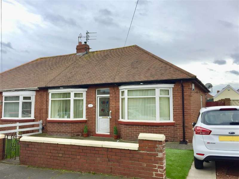 2 Bedrooms Semi Detached Bungalow for sale in Northfield Road, South Shields