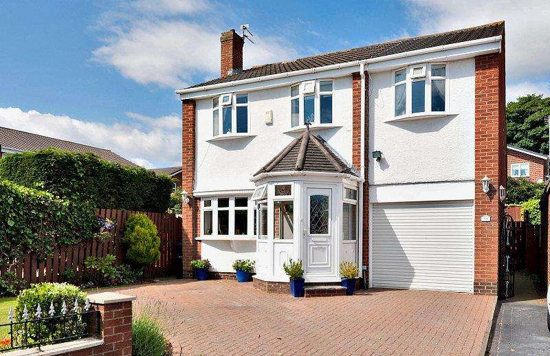 5 Bedrooms Detached House for sale in Deaconsfield Close, Chaplegarth, Sunderland