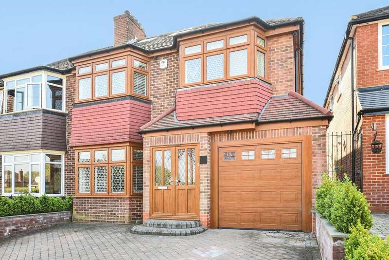 5 Bedrooms Semi Detached House for sale in Silverdale, Enfield