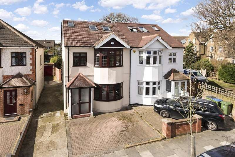 4 Bedrooms Semi Detached House for sale in Larchwood Road, New Eltham, London, SE9