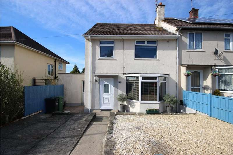 3 Bedrooms End Of Terrace House for sale in Bishopthorpe Road, Bristol, BS10