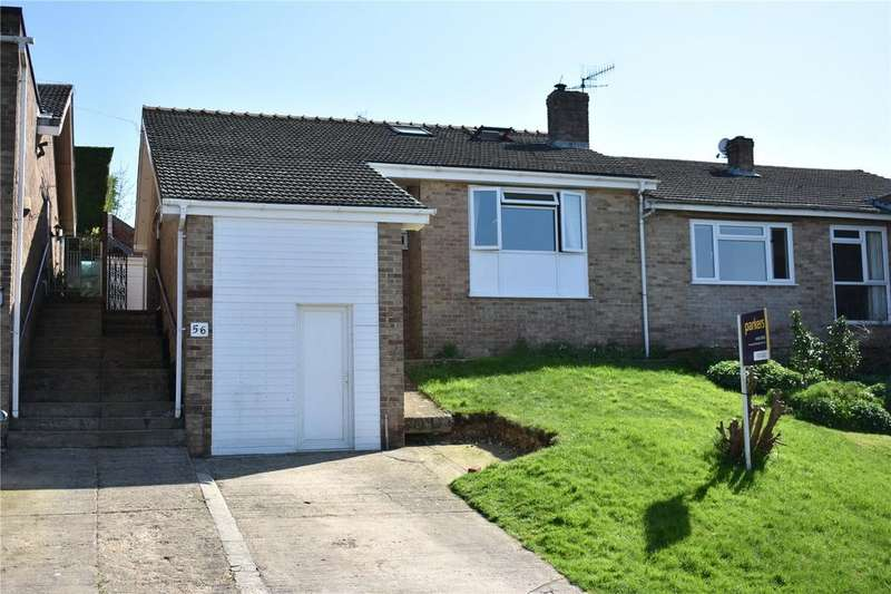 3 Bedrooms Semi Detached Bungalow for sale in Langtoft Road, Stroud, Gloucestershire, GL5