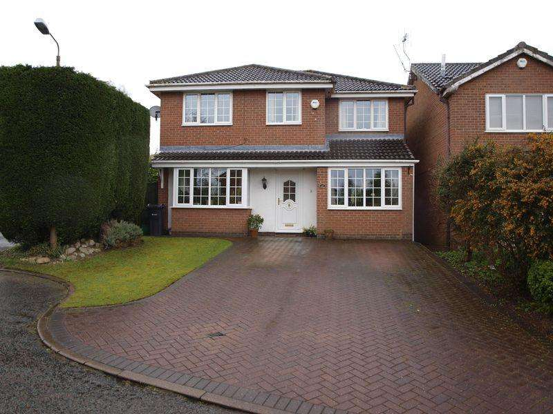 4 Bedrooms Detached House for sale in Betley Close, Northwich, CW9 8SG