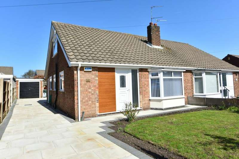 3 Bedrooms Semi Detached Bungalow for sale in Redwood Drive, Ormskirk