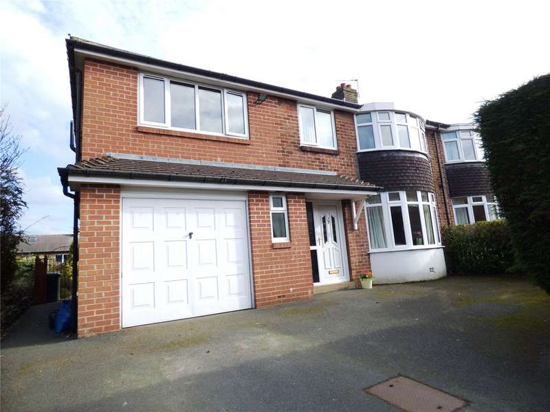 5 Bedrooms Semi Detached House for sale in Hebble Mount, Meltham, Holmfirth, West Yorkshire, HD9