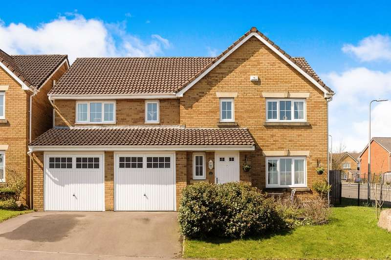 5 Bedrooms Detached House for sale in Green Meadow View, Heolgerrig, Merthyr Tydfil