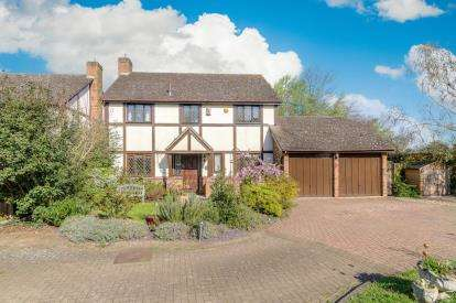 4 Bedrooms Detached House for sale in The Tudors, Colmworth, Bedford, Bedfordshire