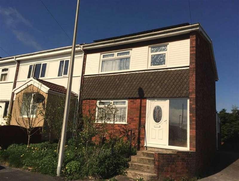 2 Bedrooms End Of Terrace House for sale in Llys Fran, Llanelli