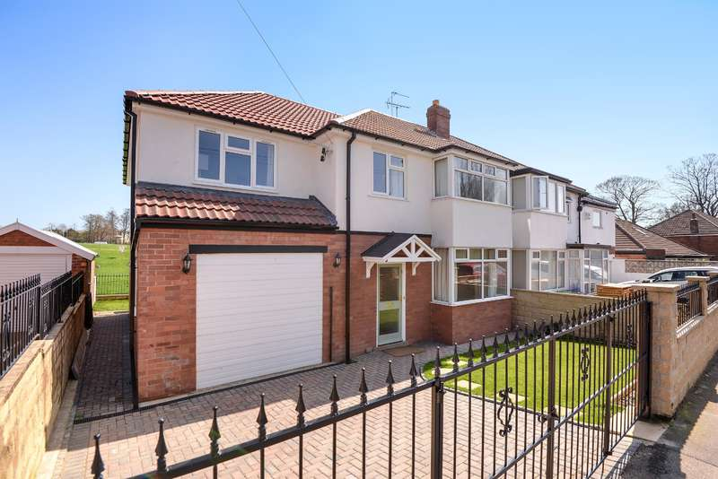 5 Bedrooms Semi Detached House for sale in Bentcliffe Gardens, Moortown, Leeds, LS17 6QS