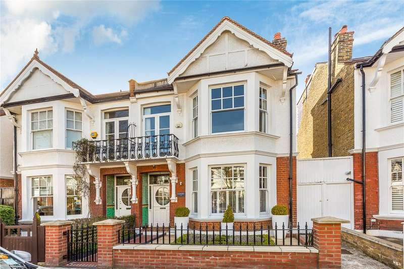 5 Bedrooms Semi Detached House for sale in Foster Road, Chiswick, London, W4