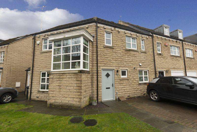 4 Bedrooms End Of Terrace House for sale in 23 Copley Drive, Copley, HX3 0US
