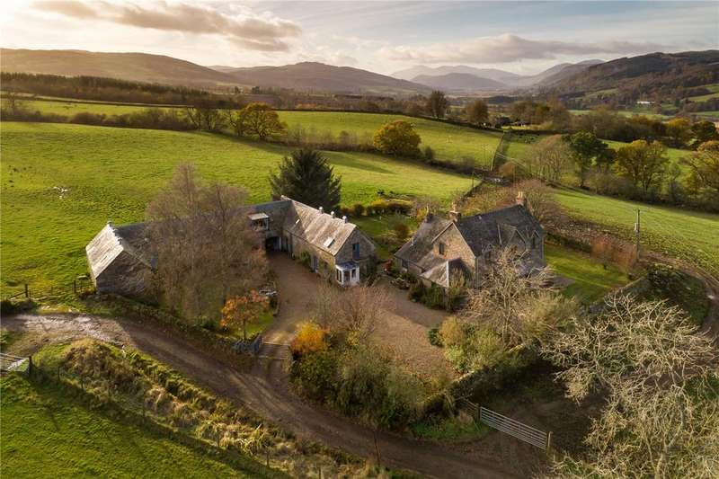 4 Bedrooms Detached House for sale in Upper Pitcairn, By Grandtully, Aberfeldy, Perthshire, PH15