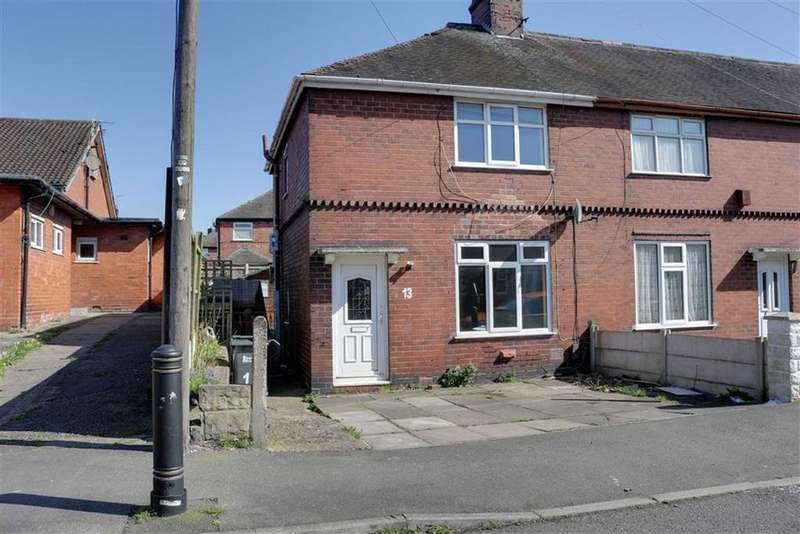 2 Bedrooms Town House for sale in Powell Street, Cobridge, Stoke-on-Trent
