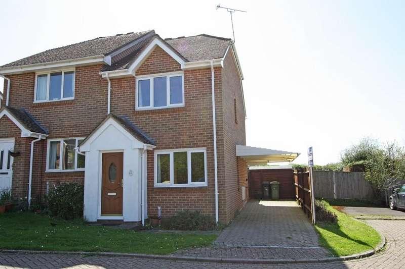 2 Bedrooms Semi Detached House for sale in Robertsbridge