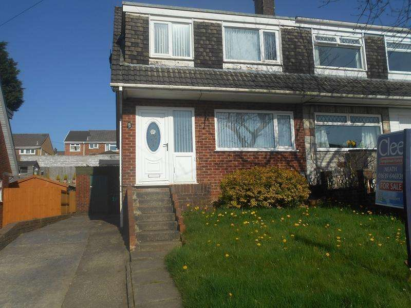 3 Bedrooms Semi Detached House for sale in , Brynau Wood, Neath, Neath Port Talbot.