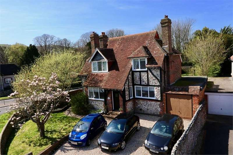 4 Bedrooms Detached House for sale in Church Street, Willingdon, EASTBOURNE, East Sussex