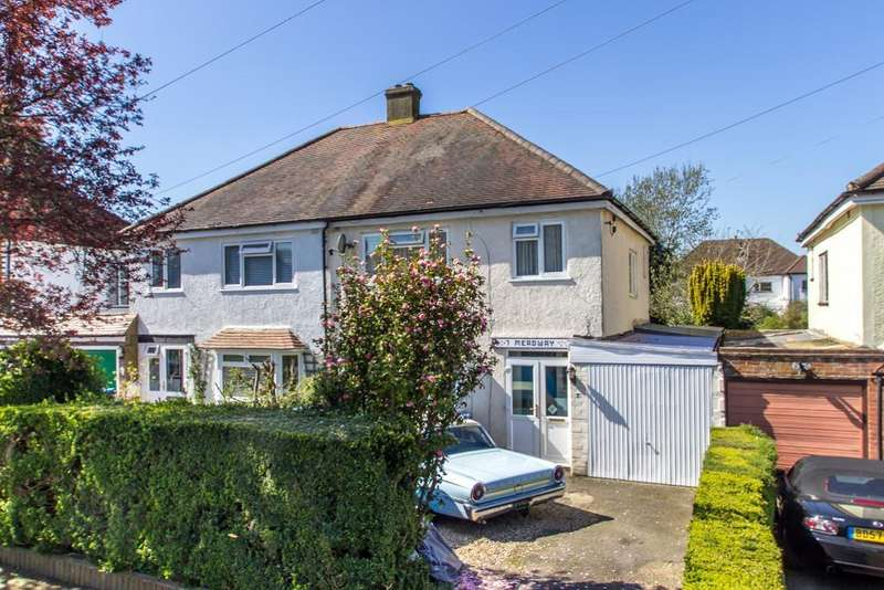3 Bedrooms Semi Detached House for sale in Meadway, Warlingham, Surrey, CR6 9RW