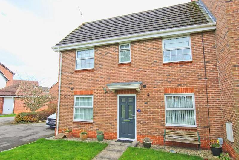 3 Bedrooms Semi Detached House for sale in Aire Close, Brough, HU15