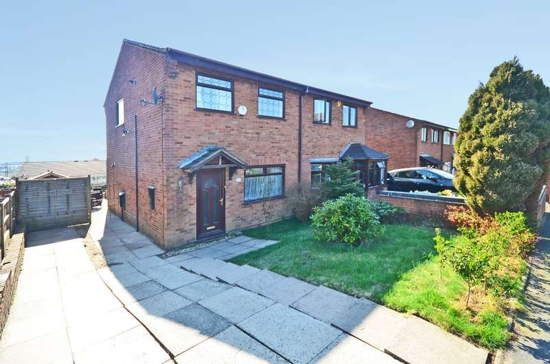3 Bedrooms Semi Detached House for sale in **NEW** Amison Street, Meir Hay, ST3 1LD