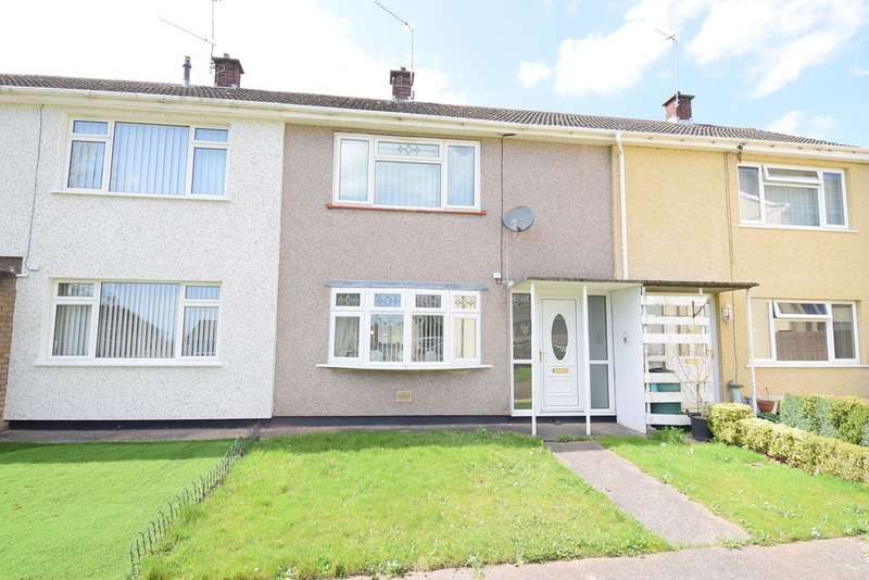 2 Bedrooms Terraced House for sale in Chestnut Green, Upper Cwmbran, Cwmbran, NP44