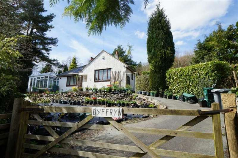 2 Bedrooms Detached Bungalow for sale in Crafnant Road, Trefriw, Conwy