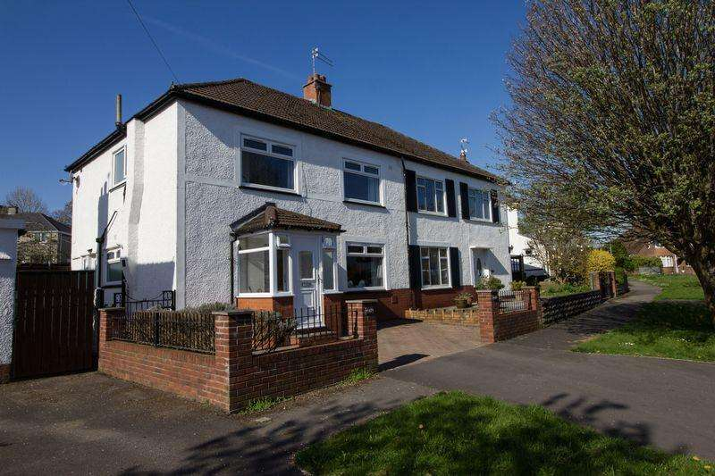 3 Bedrooms Semi Detached House for sale in Lavernock Road, Penarth