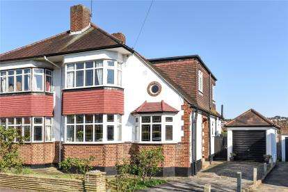 4 Bedrooms Semi Detached House for sale in Windermere Road, West Wickham