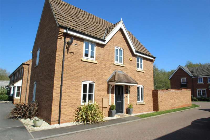 3 Bedrooms Detached House for sale in Red Kite View, Calvert Green