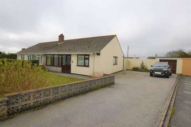 2 Bedrooms Detached Bungalow for sale in Victoria Road, Threemilestone, Truro, Cornwall