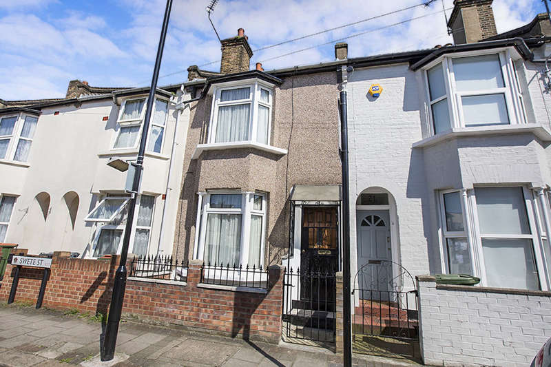 2 Bedrooms Terraced House for sale in Swete Street, London, E13