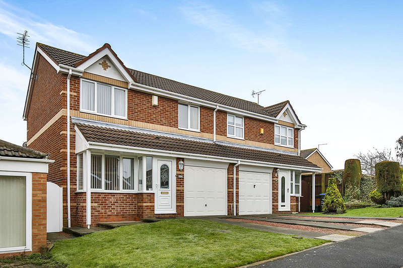 3 Bedrooms Semi Detached House for sale in Cheviot Gardens, Seaham, SR7